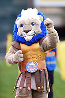 Bath Rugby mascot Maximus. Aviva Premiership match, between Bath Rugby and Worcester Warriors on October 7, 2017 at the Recreation Ground in Bath, England. Photo by: Patrick Khachfe / Onside Images