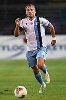 24th June 2020, Bergamo, Italy; Seria A football league, Atalanta versus Lazio;  Ciro Immobile of Lazio breaks forward on the ball
