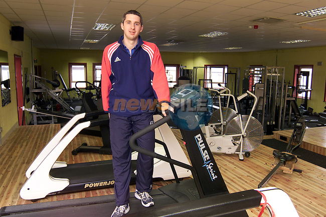Ronan McGahon of Fitness Solutions, Ardee..Picture: Paul Mohan/Newsfile