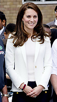 16 June 2017 - Princess Kate, Duchess of Cambridge during her visit to the 1851 Trust Roadshow at the Docklands Sailing and Watersports Centre in London, England. Photo Credit: PPE/face to face/AdMedia