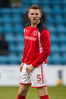 Ashley Eastham of Fleetwood Town warms up ahead of the Sky Bet League 1 match between Gillingham and Fleetwood Town at the MEMS Priestfield Stadium, Gillingham, England on 27 January 2018. Photo by David Horn.