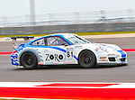 Jim Slavik (81) in action during the V8 Supercars and the Porsche GT3 Cup cars practice sessions at the Circuit of the Americas race track in Austin,Texas. ..