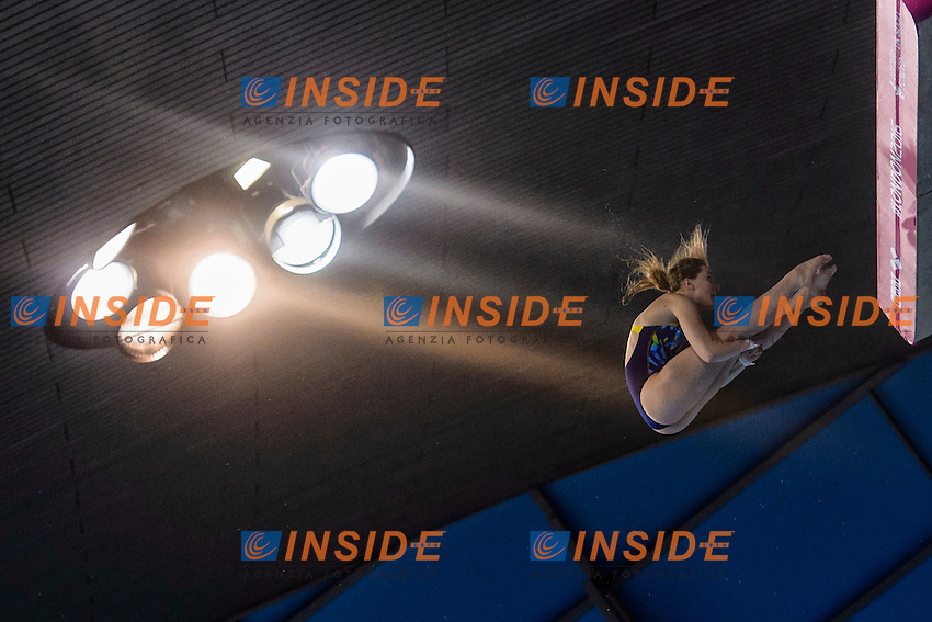 KRASNOSHLYK Ganna UKR Ukraine<br /> Women's 10m Platform Final <br /> London, Queen Elizabeth II Olympic Park Pool <br /> LEN 2016 European Aquatics Elite Championships <br /> Diving  <br /> Day 05 13-05-2016<br /> Photo Andrea Staccioli/Deepbluemedia/Insidefoto