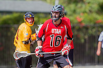 Los Angeles, CA 02/15/14 - \u16\ in action during the Utah versus USC game as part of the 2014 Pac-12 Shootout at UCLA.  Utah defeated USC 10-9.