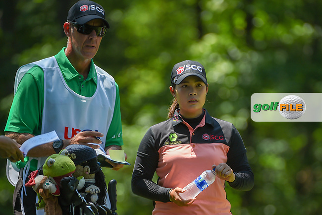 Moriya Jutanugarn (THA) looks over her tee shot on 2 during round 1 of the U.S. Women's Open Championship, Shoal Creek Country Club, at Birmingham, Alabama, USA. 5/31/2018.<br /> Picture: Golffile | Ken Murray<br /> <br /> All photo usage must carry mandatory copyright credit (© Golffile | Ken Murray)