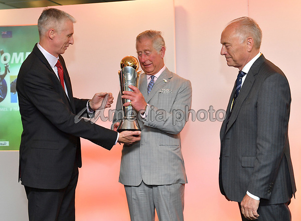 25 May 2017 - Prince Charles. Prince Charles launches the ICC Champions Trophy at The Oval London. Photo Credit: ALPR/AdMedia