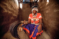 Nifagrese Antonia (70) has been a witchdoctor since 1995. She is possessed by the spirit of her grandfather, called Mpampanula, and treats people after crocodile attacks.