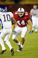 Brian Brant during Stanford's 63-26 win over San Jose State on September 14, 2002 at Stanford Stadium.<br />