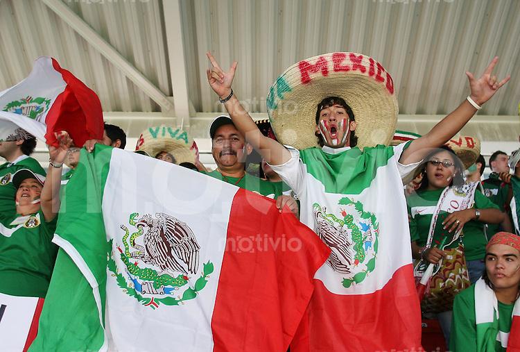 Fussball WM 2006 Vorunde Gruppe D Mexico - Iran Mexico-Fans