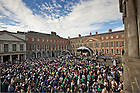 Sep. 1, 2012; Mass of Thanksgiving, Dublin Castle...Photo by Matt Cashore/University of Notre Dame
