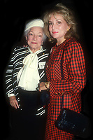 Helen Hayes Barbara Walters 1990<br /> Photo By John Barrett/PHOTOlink.net / MediaPunch