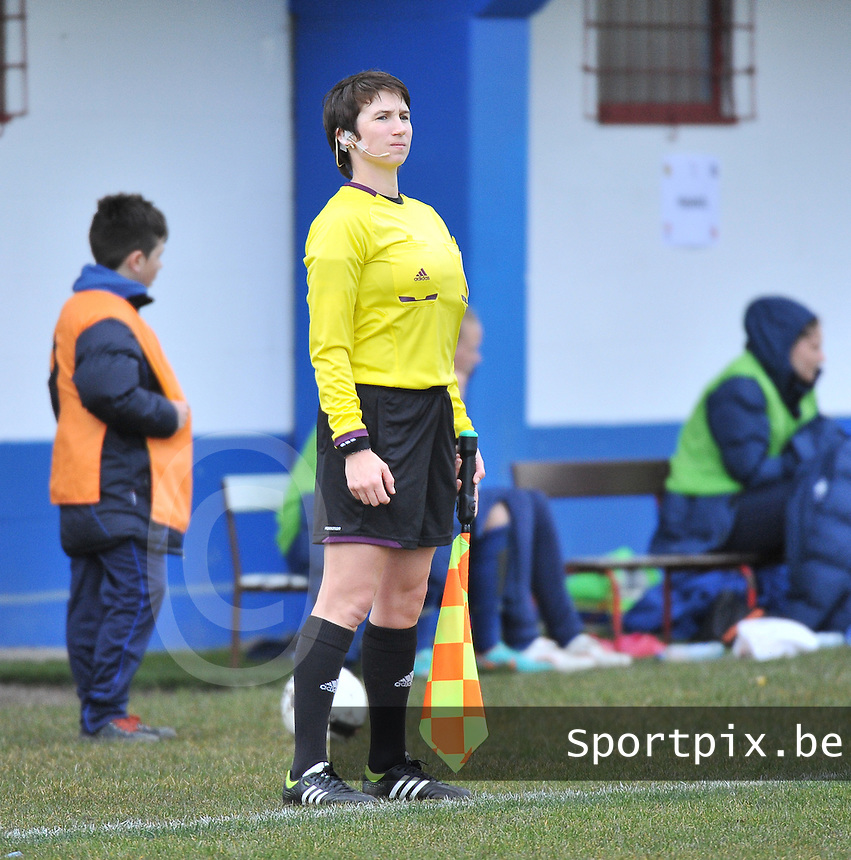 Switzerland U19 - France U19 : Michelle O'Neill (IRL).foto DAVID CATRY / Nikonpro.be