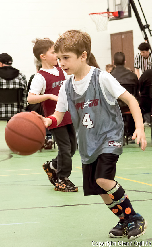 Micah Siertsema<br /> <br /> Upward Sports Saturday basketball at Missionary Church