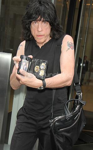 NEW YORK, NY-July 07: Marky Ramone at SiriusXM in New York. NY July 07, 2016. Credit:RW/MediaPunch