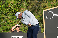 Lee Westwood (ENG) in action on the 2nd hole during the third round of the 76 Open D'Italia, Olgiata Golf Club, Rome, Rome, Italy. 12/10/19.<br /> Picture Stefano Di Maria / Golffile.ie<br /> <br /> All photo usage must carry mandatory copyright credit (© Golffile | Stefano Di Maria)