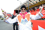 Frank 'Elvis' Godfrey pictured at the Drogheda St. Patrick's day parade. Photo: Colin Bell/pressphotos.ie