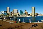 Maryland, Baltimore: The Inner Harbor. Photo #: mdbalt101..Photo copyright Lee Foster, www.fostertravel.com, 510/549-2202, lee@fostertravel.com