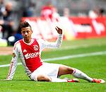 Nederland, Amsterdam, 7 oktober  2012.Seizoen 2012-2013.Eredivisie.Ajax-FC Utrecht.TOBIAS SANA baalt van het 1-1 gelijkspel tegen FC Utrecht