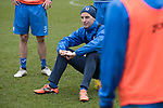 St Johnstone Training&hellip;.17.03.17<br />Steven MacLean pictured during training this morning at McDiarmid Park ahead of tomorrow&rsquo;s trip to Motherwell.<br />Picture by Graeme Hart.<br />Copyright Perthshire Picture Agency<br />Tel: 01738 623350  Mobile: 07990 594431