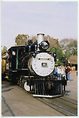 An almost head-on view of RGS #41 at Knott's Berry Farm.<br /> RGS  Buena Park, CA  Taken by Dorman, Richard L. - 2/15/2002