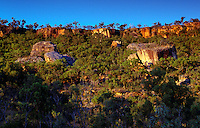 Split Rock area, Laura Sandstone Escarpments  Laura, Cape York Peninsula, Queensland, Australia.