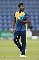 Thisara Perera (Sri Lanka) during Afghanistan vs Sri Lanka, ICC World Cup Cricket at Sophia Gardens Cardiff on 4th June 2019