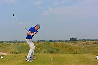 Jack Pierse (Portmarnock) on the 16th tee during Round 3 of the East of Ireland Amateur Open Championship sponsored by City North Hotel at Co. Louth Golf club in Baltray on Monday 6th June 2016.<br /> Photo by: Golffile   Thos Caffrey