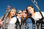 "STAGE FRIGHT: Transition students from St. Josephs Secondary School in Abbeyfeale getting in some last minute rehersals for  ""Grainne Mhaol"" which will be sdtaged in Abbeyfeale next month..L/r. Karina Kiely (Brosna), Katie Daly (Abbeyfeale), Rebecca Ward (Abbeyfeale) and Brenda Sheehan (Mountcollins)."