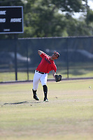 Leon Paulino (69) of Chaminade Madonna College Prep High School in Hollywood, Florida during the Under Armour Baseball Factory National Showcase, Florida, presented by Baseball Factory on June 13, 2018 the Joe DiMaggio Sports Complex in Clearwater, Florida.  (Nathan Ray/Four Seam Images)