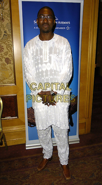 KWAME KWEI-ARMAH.Gift Of Life VII Charity Dinner, Royal Lancaster Hotel, London, England, September 16th 2006..full length white tunic top trousers .Ref: CAN.www.capitalpictures.com.sales@capitalpictures.com.©Can Nguyen/Capital Pictures
