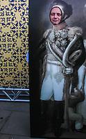 """SAO PAULO, SP, 02 SETEMBRO 2012 - GRITO Gilberto Kassab, prefeito de Sao Paulo durante Encenação do espetáculo """"Grito do Ipiranga"""", abre a Semana da Pátria em São Paulo. A primeira encenação teatral da Proclamação da Independência, ato em que D. Pedro I anunciou às margens do riacho do Ipiranga. As cenas históricas do último ato foram interpretadas pelos atores Murilo Rosa (D. Pedro I), e Déborah Secco (Maria Leopoldina) e Renato Borghi (José Bonifácio de Andrada e Silva). A direção é de Nelson Baskerville (Prêmio Shell 2012 como melhor diretor), no Parque da Independência no bairro do Ipiranga região sul da capital paulista, neste domingo, 02.VANESSA CARVALHO - BRAZIL PHOT PRESS."""