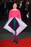 Claire Stewart at the premiere for &quot;Breathe&quot;, part of the BFI London Film Festival, at the Odeon Leicester Square, London, UK. <br /> 04 October  2017<br /> Picture: Steve Vas/Featureflash/SilverHub 0208 004 5359 sales@silverhubmedia.com