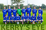 The Killarney athletic team that played Killarney Celtic in the Munster Junior cup in Celtic park on Sunday front row l-r: Jack O'Connor, Bryan O'Carroll, daniel O'Sullivan, Alan Daly, Chris O'Meara, william Courtney, Dylan Hayes. Back row: Mark griffin, Martin Crowley, Aidan Mulvaney, David Neeson, Anthony O'Carroll, Michael Langney, Brian O'RTeilly and Sam Tamir