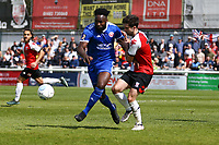 David Ijaha of Welling United  and Max Kretzschmar of Woking during Woking vs Welling United, Vanarama National League South Promotion Play-Off Final Football at The Laithwaite Community Stadium on 12th May 2019