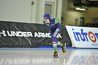 SPEED SKATING: SALT LAKE CITY: 19-11-2015, Utah Olympic Oval, ISU World Cup, training, Lisa van der Geest (NED), ©foto Martin de Jong
