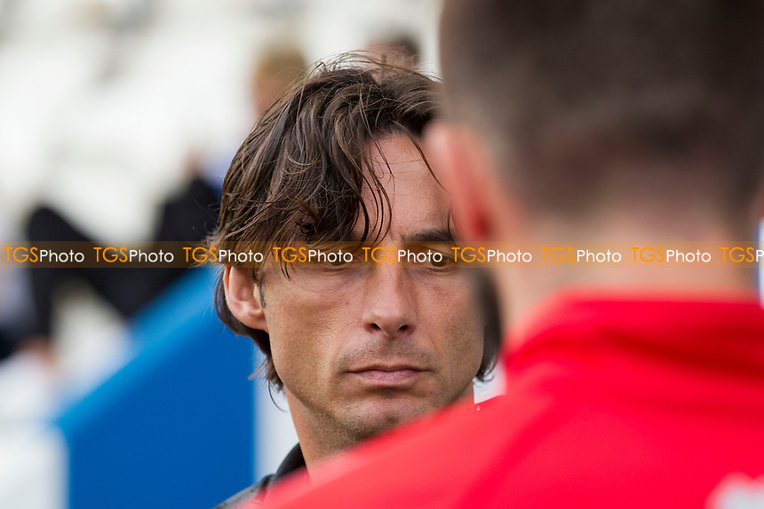 Gabriele Ciofi, Manager of Crawley Town during Colchester United vs Crawley Town, Sky Bet EFL League 2 Football at the JobServe Community Stadium on 13th October 2018