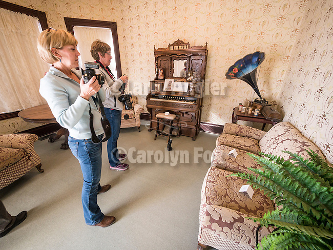 Speedlight class with Tom Bol at the Humboldt County Museum on Thursday, Shooting the West XXVII, Winnemucca, Nev.