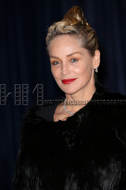 Sharon Stone  attending the  2013 White House Correspondents' Association Dinner at the Washington Hilton Hotel in Washington, DC on 4/27/2013