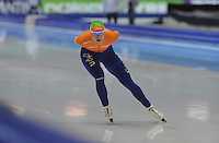 SCHAATSEN: HEERENVEEN: IJsstadion Thialf, 16-11-2012, Essent ISU World Cup, Season 2012-2013, Ladies 3000 meter Division A, Marije Joling (NED), ©foto Martin de Jong