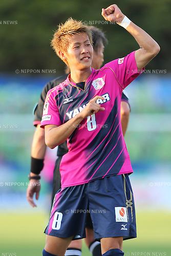 Yoichiro Kakitani (Cerezo), .May 3, 2013 - Football / Soccer : .2013 J.LEAGUE Division 1, 9th Sec .match between Shonan Bellmare 0-3 Cerezo Osaka .at Shonan BMW Stadium Hiratsuka, Kanagawa, Japan. .(Photo by Daiju Kitamura/AFLO SPORT)