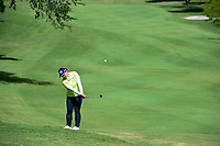 Amy Yang (KOR) hits her approach shot on 10 during round 1 of  the Volunteers of America Texas Shootout Presented by JTBC, at the Las Colinas Country Club in Irving, Texas, USA. 4/27/2017.<br /> Picture: Golffile | Ken Murray<br /> <br /> <br /> All photo usage must carry mandatory copyright credit (&copy; Golffile | Ken Murray)