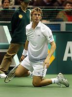 20040221, Rotterdam, ABNAMRO WTT, Ferrero gaat diep in zijn partij tegen Mirnyi