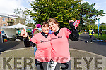 Pictured after the 24 hour run held in Tralee Town Park on Sunday afternoon last were l-r: Catherine Sugrue and Greta Quirke, Tralee