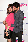 Alexandra Jimenez and Paco Leon present the start of filming of the movie 'Embarazados' in Madrid, Spain. Oct. 23, 2014. (ALTERPHOTOS/Carlos Dafonte)