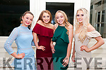 North Kerry Harriers Ball: attending the North Kerry Harriers Hunt Ball at the Listowel Arms Hotel on Saturday night last were Ciara Walsh, Nicola Collins Aobha Quinn & Rebecca Walsh.