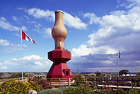World's Largest Lamp, Donalda, AB, Alberta, Canada - Tourist Attraction