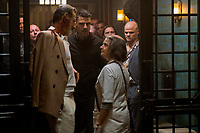 Hotel Artemis (2018) <br /> Jeff Goldblum, Zachary Quinto, Jodie Foster &amp; Evan Jones<br /> *Filmstill - Editorial Use Only*<br /> CAP/MFS<br /> Image supplied by Capital Pictures