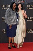 Indira Varma<br /> arriving for the Olivier Awards 2018 at the Royal Albert Hall, London<br /> <br /> ©Ash Knotek  D3392  08/04/2018