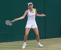 CAROLINE WOZNIACKI (DEN)<br /> <br /> The Championships Wimbledon 2014 - The All England Lawn Tennis Club -  London - UK -  ATP - ITF - WTA-2014  - Grand Slam - Great Britain -  30th June 2014. <br /> <br /> © Tennis Photo Network