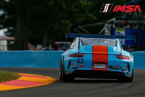 Porsche GT3 Cup Challenge USA / CAN<br /> Sahlen's Six Hours of the Glen<br /> Watkins Glen International, Watkins Glen, NY USA<br /> Thursday 29 June 2017<br /> 43, Mark Kvamme, GT3P, USA, M, 2017 Porsche 991<br /> World Copyright: Jake Galstad/LAT Images